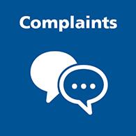 Link to Complaints page image