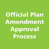 Official Plan Amendment Approval Process