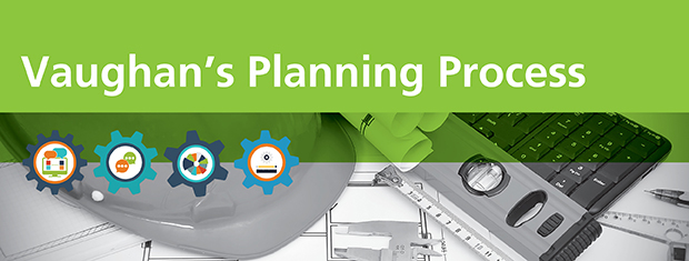 Vaughan's Planning Process page banner