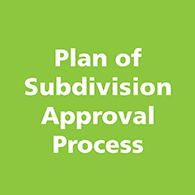 Plan of Subdivision Approval Process