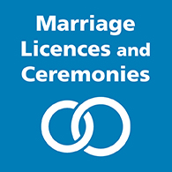 Marriage Licences and Ceremonies image link