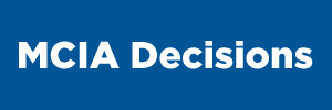 MCIA Decisions button