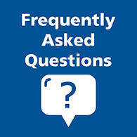 Frequently Asked Questions text tile image