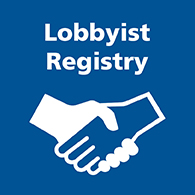 Lobbyist Registry text tile image
