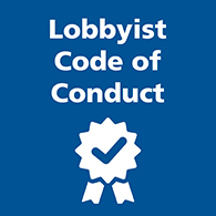 Lobbyist code of conduct image