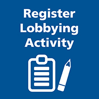 Register lobbying activity image