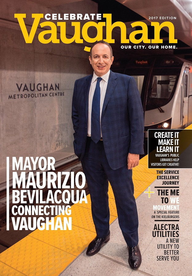 Celebrate Vaughan Magazine cover