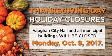 Image of Thanksgiving holiday closure