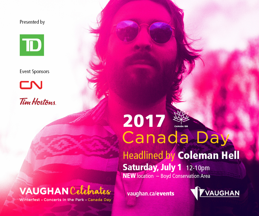 Canada Day promotional poster