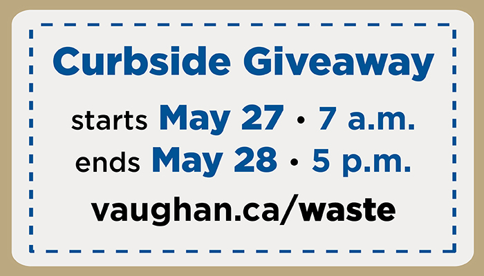 Curbside giveaway image