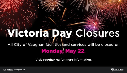 Victoria Day Closure