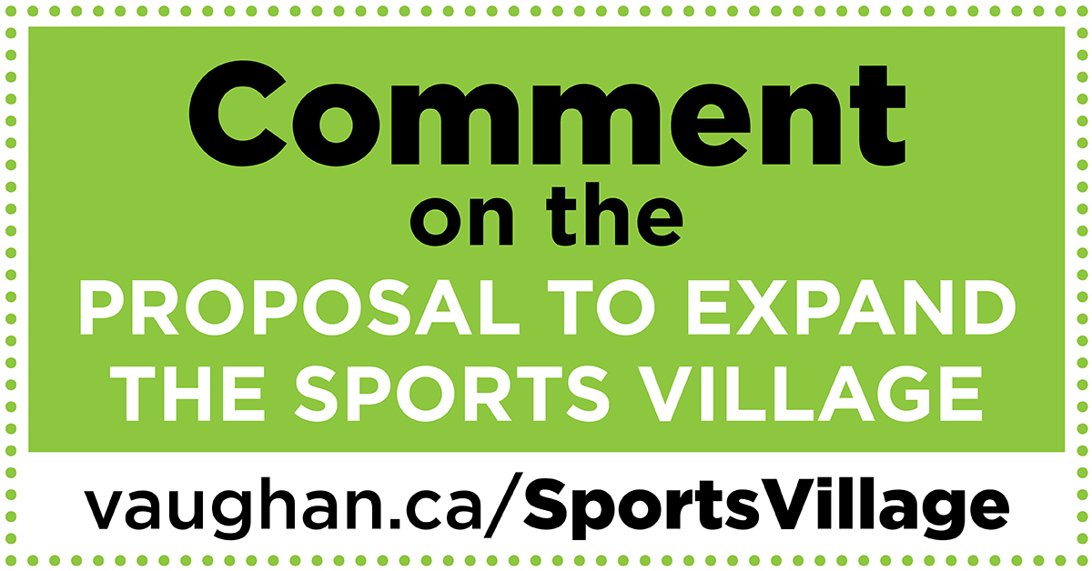 Comment on the Sports Village proposal