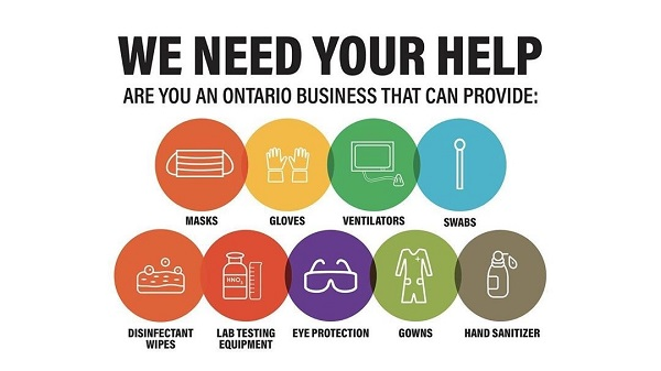 We need your help Ontario Together image