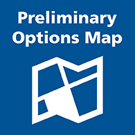preliminary options map button