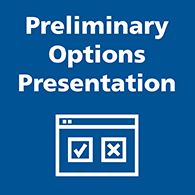 preliminary options button