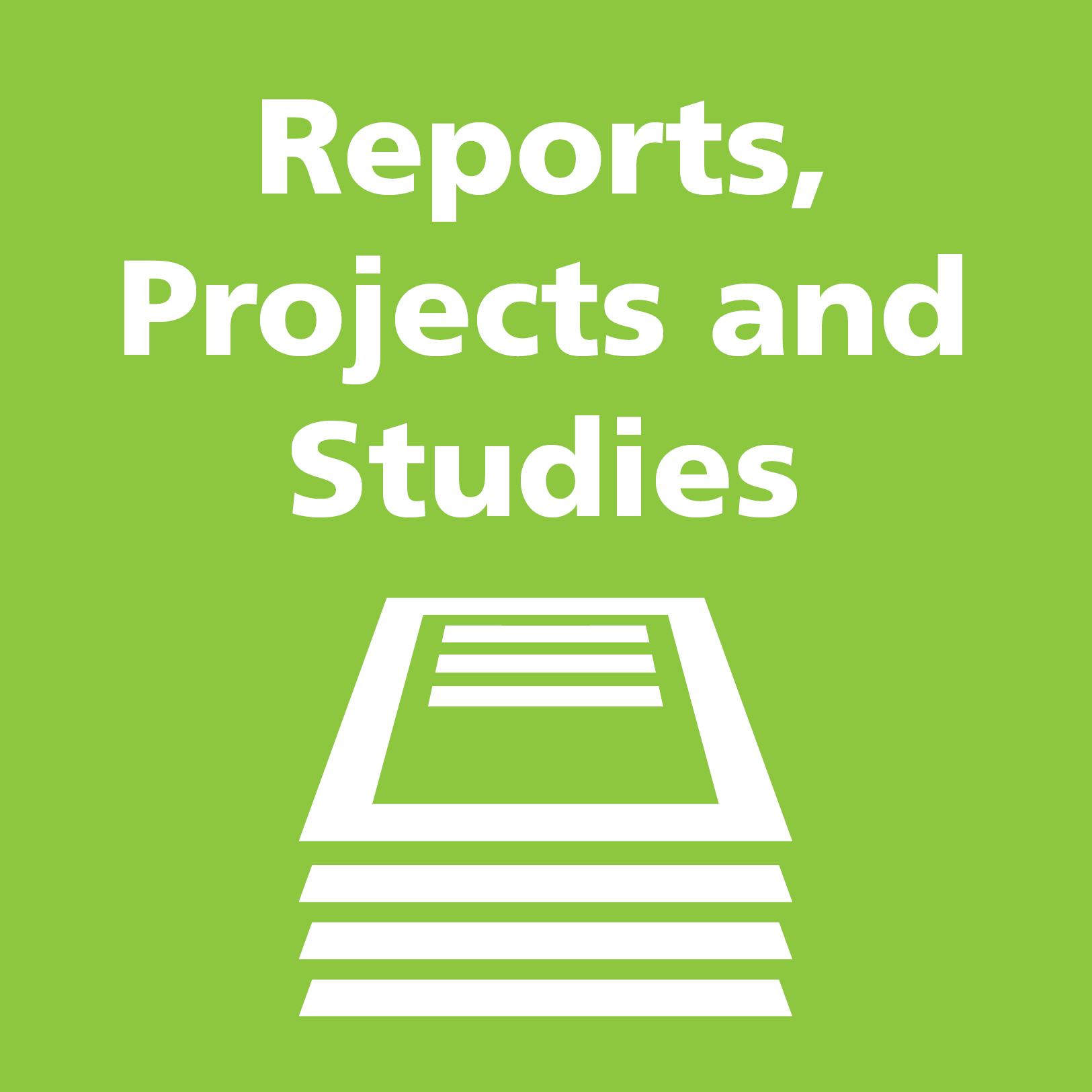 Reports, Project and Studies link image