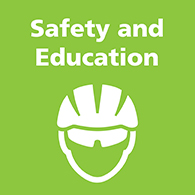 Safety and Education link image