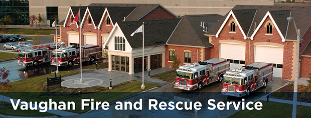 Vaughan Fire and Rescue Service page banner image