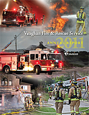 2011 Vaughan Fire and Rescue Annual Report image