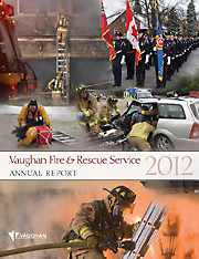2012 Vaughan Fire and Rescue Annual Report image
