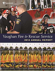 2014 Vaughan Fire and Rescue Annual Report image
