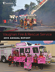 2015 Vaughan Fire and Rescue Annual Report image