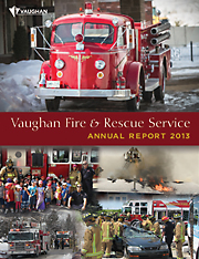 2013 Vaughan Fire and Rescue Annual Report image