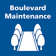 Boulevard Maintenance button