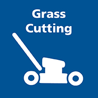 Grass Cutting button